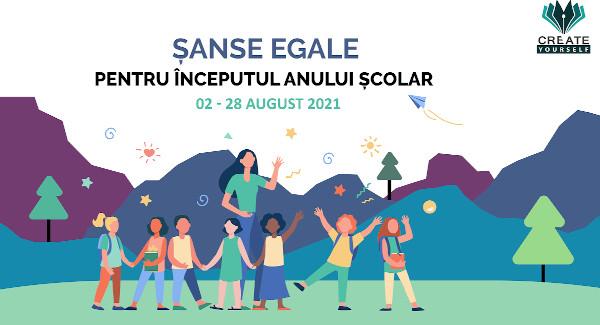 Create Yourself_Sanse egale pentru inceputul anului scolar 2