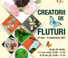 Creatorii de fluturi – ateliere de science & craft pentru copii