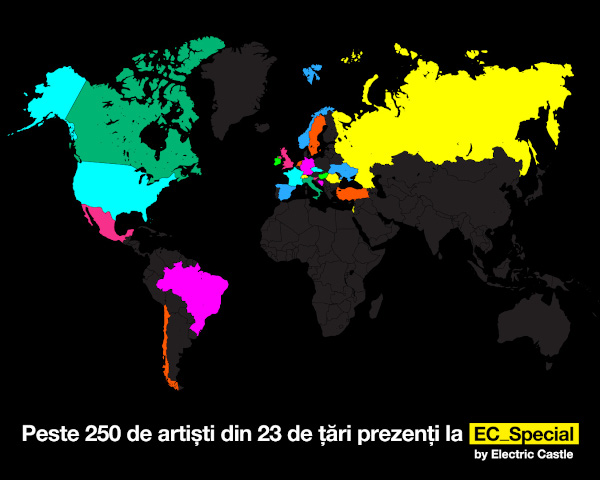 Electric Castle Special_world map_artisti