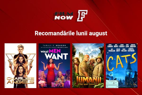 Filmele lunii august Film Now_vizual