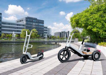 Impulsuri noi pentru mobilitatea urbană: BMW Group Research dezvăluie concepte inovatoare pentru bicicletă cargo şi electroscuter