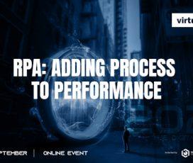 Despre tehnologia RPA și digitalizarea domeniului HR, pe 29 și 30 septembrie, la edițiile de toamnă Virtualized