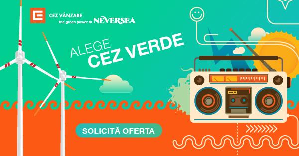 """CEZ lansează concursul muzical """"Green Challenge"""" împreună cu Neversea și se angajează să doneze energie verde către o școală de muzică defavorizată din Oltenia"""