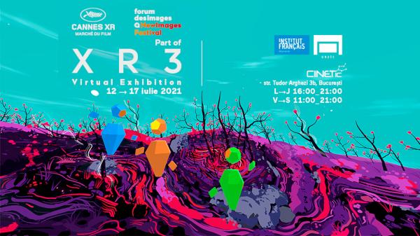 Expoziția XR3 –premieră absolută în România