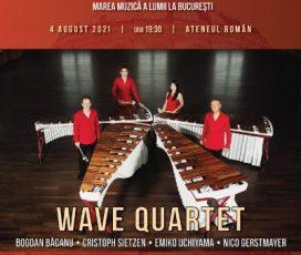 Wave Quartet – Concert de marimba la București pe scena Festivalului Vară Magică 2021