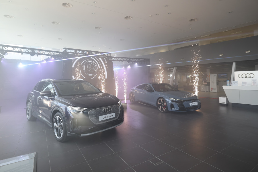 Audi e-tron GT și Audi Q4 e-tron