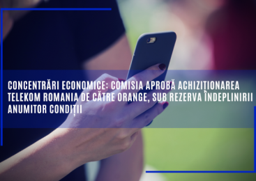 Comisia aprobă achiziționarea Telekom Romania de către Orange, sub rezerva îndeplinirii anumitor condiții