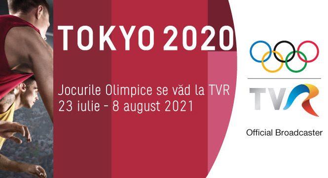 Din 23 iulie încep Jocurile Olimpice. TVR, official broadcaster #Tokyo2020