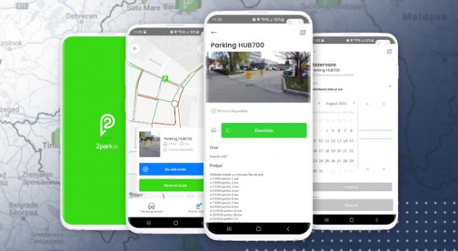 2park, aplicația mobilă de plată a parcării, a depășit 20.000 de utilizatori unici în România