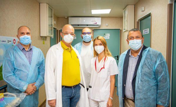 """Compania Arctic donează Spitalului """"Grigore Alexandrescu"""" produse electrocasnice în valoare de 100.000 de lei"""
