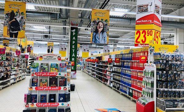 Mii de articole pentru școală, inclusiv din plastic reciclat, în cadrul Back to school Auchan