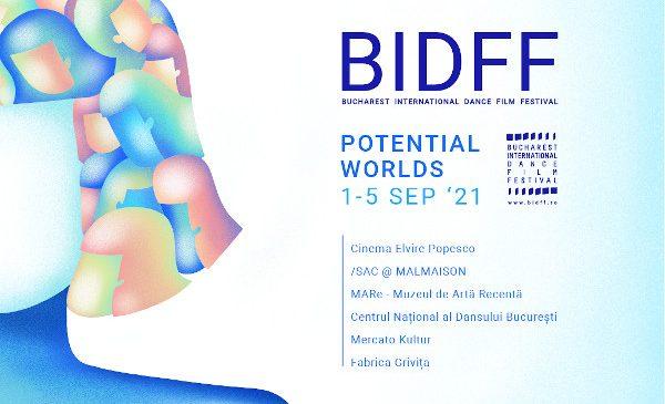 34 scurtmetraje în competiția Bucharest International Dance Film Festival 2021