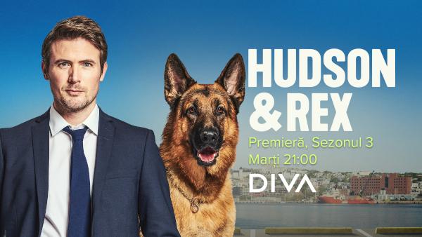 Echipa HUDSON ȘI REX revine la DIVA din 31 august cu premiera sezonului 3