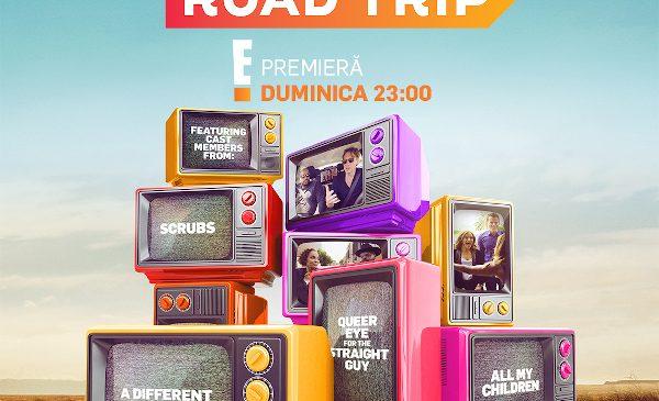 E! pornește într-o excursie în trecut cu cele mai cunoscute vedete ale televiziunii americane în REUNION ROAD TRIP, din 8 august, de la 23:00