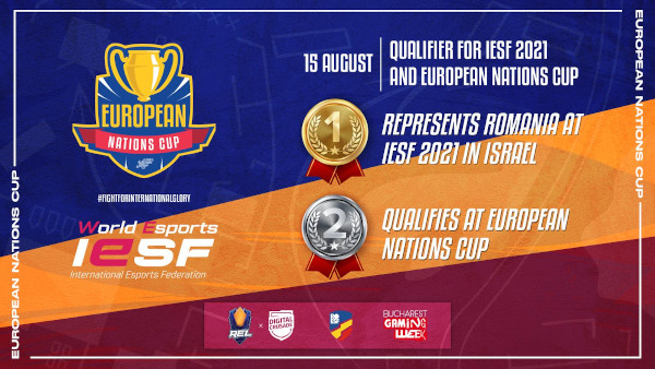 Federatia Internațională de Esports a decis organizarea European Nations Cup în România