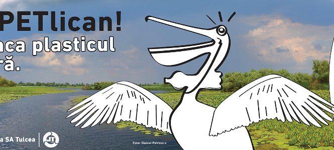 """SOR lansează """"PETlican"""", un proiect pentru combaterea poluării Deltei Dunării"""