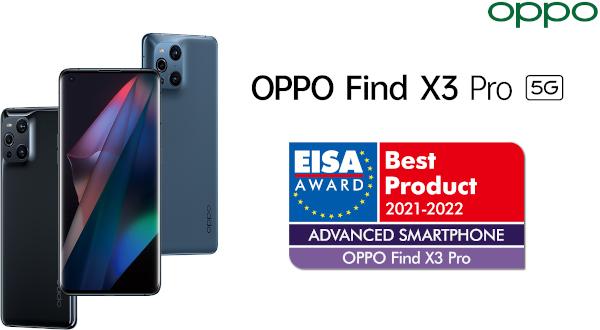 OPPO primește premiul EISA – Cel mai bun produs din categoria smartphone-uri inovatoare, pentru al doilea an la rând