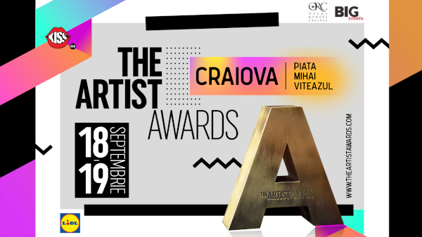 The Artist Awards: ediția cu numărul trei revine la Craiova