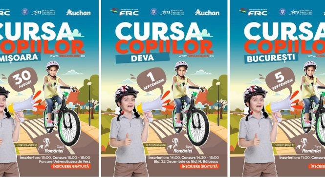 Competiții de ciclism pentru amatori mari și mici la Turul României