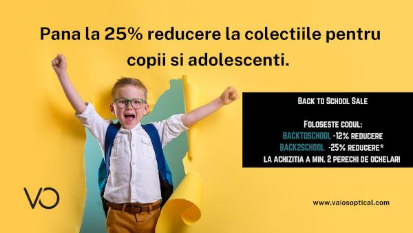 Joi, 18 August, magazinul online vaiosoptical.com lansează campania de Back to School