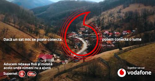 De la începutul pandemiei, 150.000 de locuitori din mediul rural beneficiază de servicii Vodafone 4G și 21.000 de gospodării au fost conectate la rețeaua fixă de internet