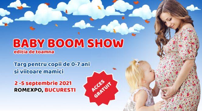 Lansări în premieră şi experienţe unice la Baby Boom Show, cel mai mare târg pentru copii şi viitoare mămici