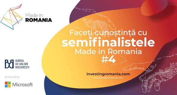 Programul Made in Romania și-a desemnat cele 50 de companii semifinaliste ale ediției a IV-a