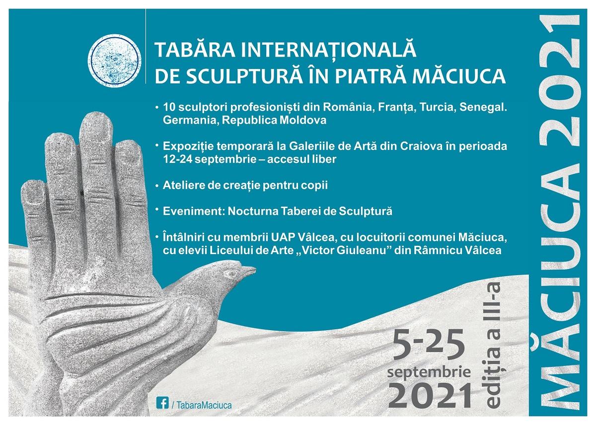 Tabara Internaționala de Sculptură în Piatră Măciuca 2021