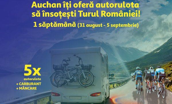 Fanii ciclismului au șansa de a însoți Turul României cu 5 autorulote oferite gratuit