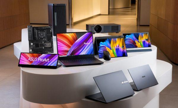 ASUS anunță soluții complete pentru creatorii de conținut, echipate cu ecrane OLED și Windows 11