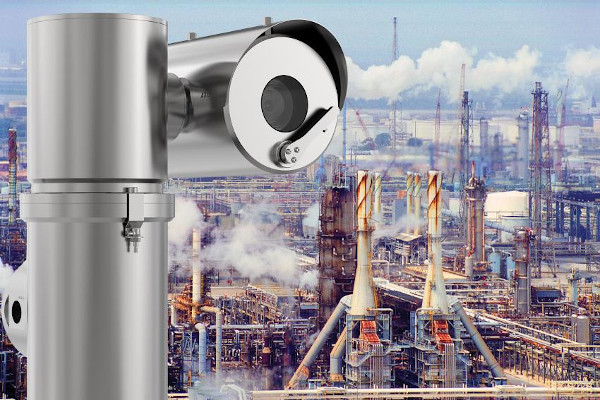 Axis Pict oil refinery chimneys smoke xpq1785