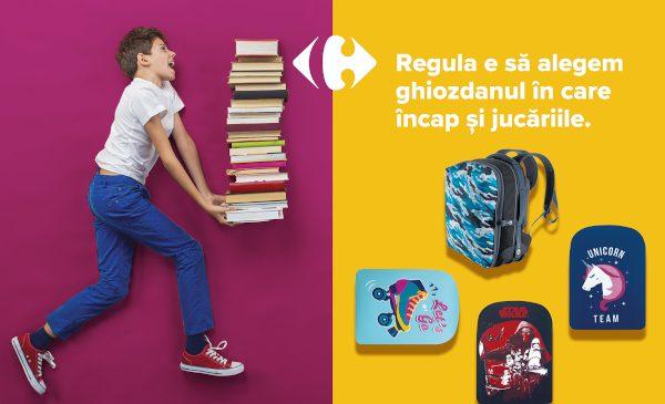 Pregătește-te de toamnă cu noile colecții TEX și Back to School de la Carrefour