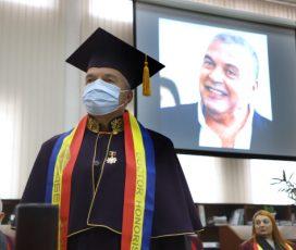 O nouă recunoaștere a contribuției în domeniul cultural, artistic, educațional și al cercetării pentru directorul TNRS și președintele FITS. Constantin Chiriac, doctor honoris causa al Academiei de Științe Economice din Moldova