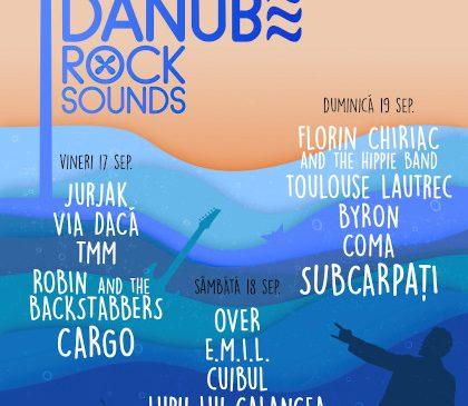 Cea de-a 7-a ediție a Festivalului Danube Rock de la Galați revine în 2021 sub un nou nume: Danube Rock Sounds