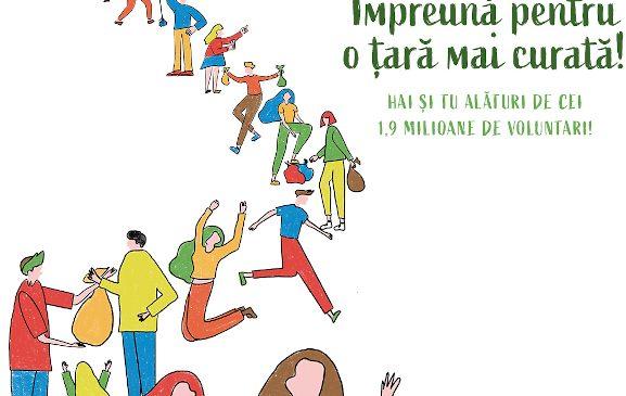 Let's Do It, Romania! organizează Ziua de Curățenie Națională! pe 18 septembrie