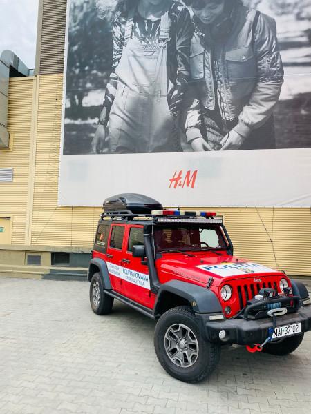 Institutul National de Criminalistica_Autospeciala Jeep Rubicon
