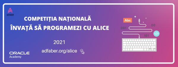 """A șaptea ediție a competiției naționale """"Învață să programezi cu Alice"""" e aici! Elevii vor să câștige titlul pentru cea mai bună lecție interactivă"""