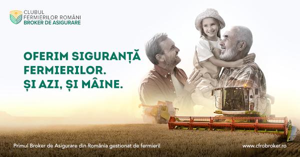 Mullen semnează campania de imagine a primului Broker de Asigurare din România coordonat de fermieri