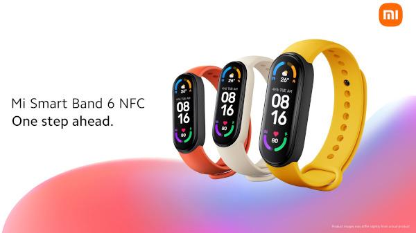 Mi Smart Band 6 NFC 01
