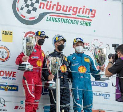NLS 7: BMW Junior Team revine pe podium cu BMW M6 GT3 – debut de succes în cursă pentru noul BMW M4 GT3