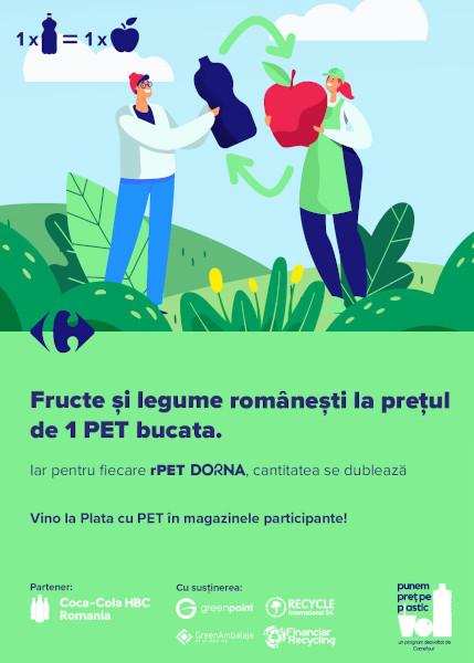 Plata cu PET_Carrefour