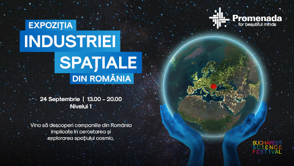 Promenada Expozitia Industriei Spatiale din Romania 24.09.2021
