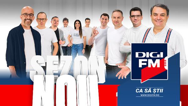 Sezon nou, la Digi FM, din 6 septembrie