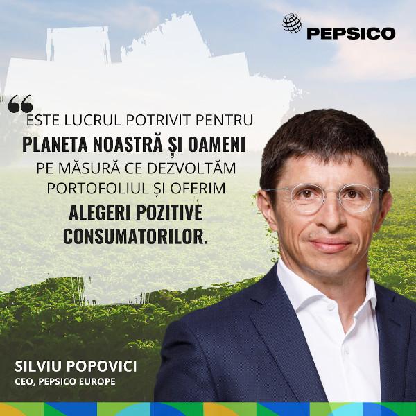 Silviu Popovici, CEO PepsiCo Europe