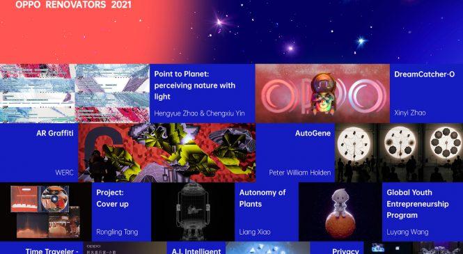 OPPO prezintă cele mai bune 10 opere de artă realizate în cadrul proiectului dedicat artiștilor la început de drum, Renovators 2021