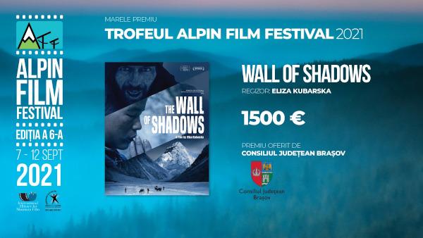 Peretele umbrelor, documentarul regizat de alpinista poloneză Eliza Kubarska, câștigă Trofeul Alpin Film Festival 2021