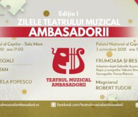 Laura Bretan, Sore și magicianul Robert Tudor la Zilele Teatrului Muzical Ambasadorii