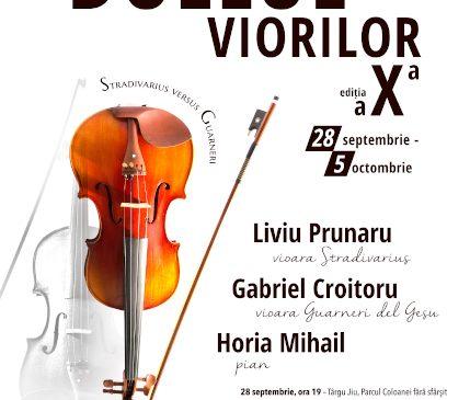 Duelul viorilor – Stradivarius versus Guarneri revine cu ediția a X-a