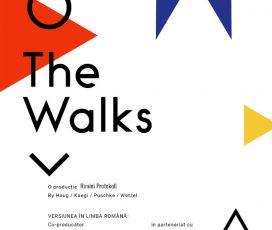 Unul dintre cele mai provocatoare evenimente teatrale ale anului, premiera în limba română a aplicației The Walks, un spectacol-experiment realizat de celebra companie Rimini Protokoll are loc pe 1 octombrie, în co-producție cu creart/Teatrelli și în parteneriat cu Goethe-Institut București