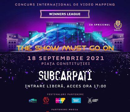 THE SHOW MUST GO ON la iMapp Bucharest, pe 18 septembrie 2021
